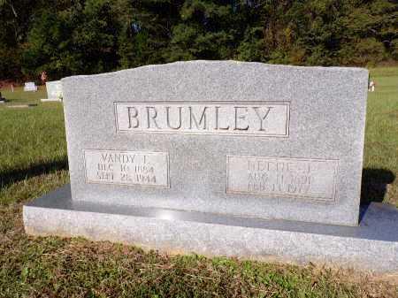 BRUMLEY, VANDY E - Calhoun County, Arkansas | VANDY E BRUMLEY - Arkansas Gravestone Photos