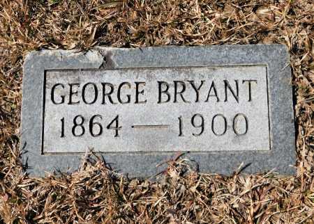 BRYANT, GEORGE - Calhoun County, Arkansas | GEORGE BRYANT - Arkansas Gravestone Photos