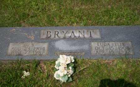 BRYANT, LUDA BELLE - Calhoun County, Arkansas | LUDA BELLE BRYANT - Arkansas Gravestone Photos