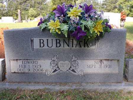 BUBNIAK, EDWARD - Calhoun County, Arkansas   EDWARD BUBNIAK - Arkansas Gravestone Photos
