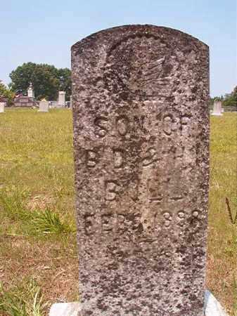 BULL, INFANT SON - Calhoun County, Arkansas | INFANT SON BULL - Arkansas Gravestone Photos
