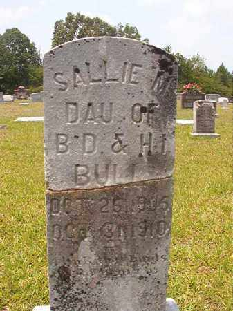 BULL, SALLIE M - Calhoun County, Arkansas | SALLIE M BULL - Arkansas Gravestone Photos