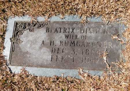 BUMGARDNER, BEATRICE - Calhoun County, Arkansas | BEATRICE BUMGARDNER - Arkansas Gravestone Photos