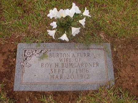 BUMGARDNER, BURTON A - Calhoun County, Arkansas   BURTON A BUMGARDNER - Arkansas Gravestone Photos