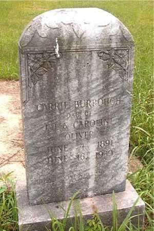 BURROUGH, CARRIE - Calhoun County, Arkansas | CARRIE BURROUGH - Arkansas Gravestone Photos