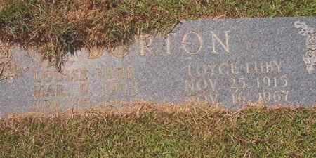 BURTON, LOYCE LUBY - Calhoun County, Arkansas | LOYCE LUBY BURTON - Arkansas Gravestone Photos