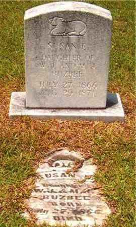 BUZBEE, SUSAN E - Calhoun County, Arkansas | SUSAN E BUZBEE - Arkansas Gravestone Photos