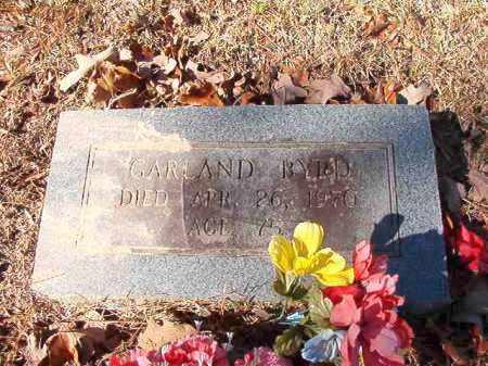 BYRD, GARLAND - Calhoun County, Arkansas | GARLAND BYRD - Arkansas Gravestone Photos
