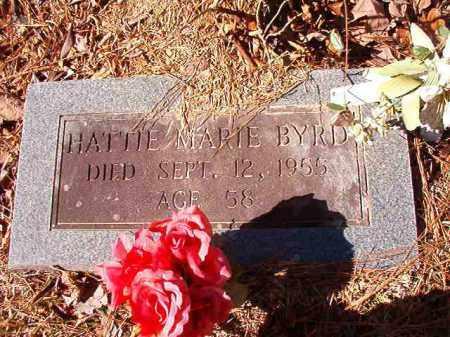 BYRD, HATTIE MARIE - Calhoun County, Arkansas | HATTIE MARIE BYRD - Arkansas Gravestone Photos