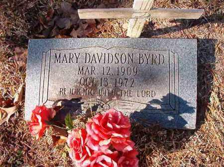 BYRD, MARY - Calhoun County, Arkansas | MARY BYRD - Arkansas Gravestone Photos