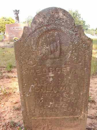 CALAWAY, GEORGE M - Calhoun County, Arkansas   GEORGE M CALAWAY - Arkansas Gravestone Photos