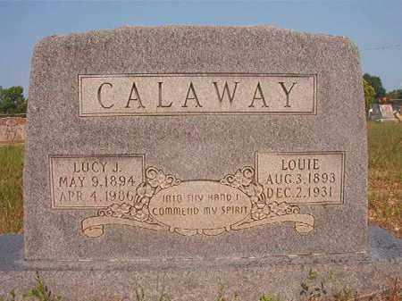 CALAWAY, LUCY J - Calhoun County, Arkansas | LUCY J CALAWAY - Arkansas Gravestone Photos