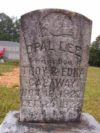 CALAWAY, OPAL LEE - Calhoun County, Arkansas | OPAL LEE CALAWAY - Arkansas Gravestone Photos