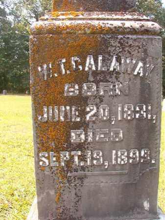 CALAWAY, W T - Calhoun County, Arkansas | W T CALAWAY - Arkansas Gravestone Photos