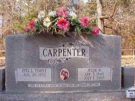 CARPENTER, JESSIE W - Calhoun County, Arkansas   JESSIE W CARPENTER - Arkansas Gravestone Photos