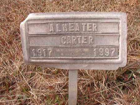CARTER, ALMEATER - Calhoun County, Arkansas | ALMEATER CARTER - Arkansas Gravestone Photos