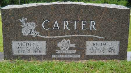 CARTER, VICTOR CHARLES - Calhoun County, Arkansas | VICTOR CHARLES CARTER - Arkansas Gravestone Photos