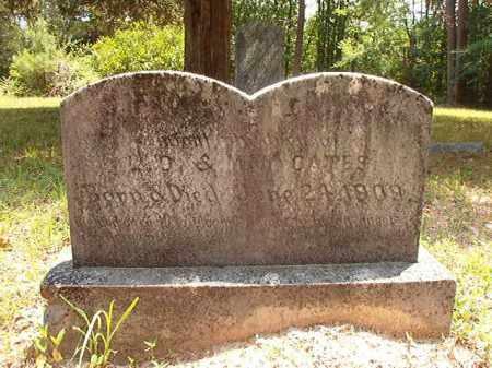 CATES, CLIFTON - Calhoun County, Arkansas   CLIFTON CATES - Arkansas Gravestone Photos