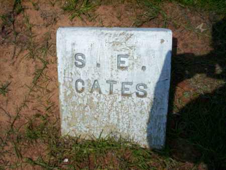 CATES, S.E. - Calhoun County, Arkansas | S.E. CATES - Arkansas Gravestone Photos