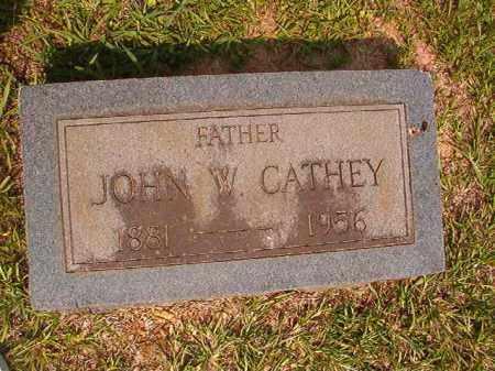 CATHEY, JOHN W - Calhoun County, Arkansas | JOHN W CATHEY - Arkansas Gravestone Photos