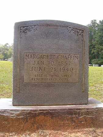 CHAFFIN, MARGARETT - Calhoun County, Arkansas   MARGARETT CHAFFIN - Arkansas Gravestone Photos