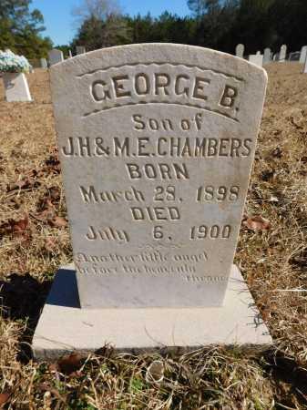 CHAMBERS, GEORGE B - Calhoun County, Arkansas | GEORGE B CHAMBERS - Arkansas Gravestone Photos