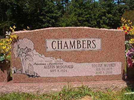 CHAMBERS, LOUISE - Calhoun County, Arkansas   LOUISE CHAMBERS - Arkansas Gravestone Photos