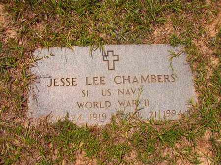 CHAMBERS (VETERAN WWII), JESSE LEE - Calhoun County, Arkansas | JESSE LEE CHAMBERS (VETERAN WWII) - Arkansas Gravestone Photos