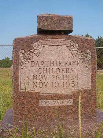 CHILDERS, DARTHIE FAYE - Calhoun County, Arkansas | DARTHIE FAYE CHILDERS - Arkansas Gravestone Photos