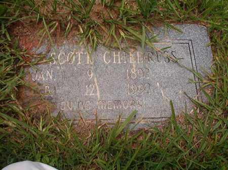 CHILDRESS, SCOTT - Calhoun County, Arkansas | SCOTT CHILDRESS - Arkansas Gravestone Photos