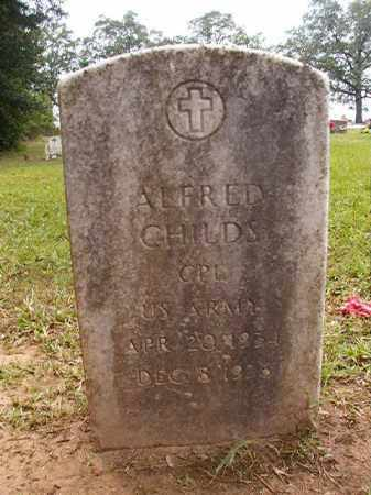 CHILDS (VETERAN), ALFRED - Calhoun County, Arkansas | ALFRED CHILDS (VETERAN) - Arkansas Gravestone Photos