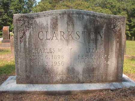 CLARKSTON, CHARLES W - Calhoun County, Arkansas | CHARLES W CLARKSTON - Arkansas Gravestone Photos