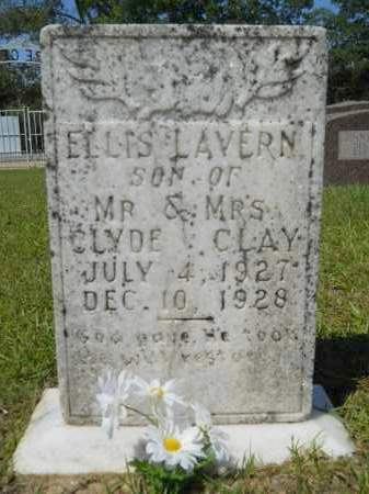 CLAY, ELLIS LAVERN - Calhoun County, Arkansas | ELLIS LAVERN CLAY - Arkansas Gravestone Photos