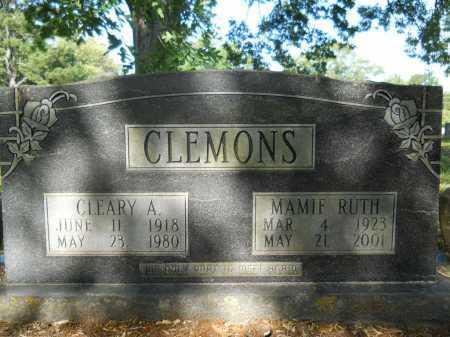 CLEMONS, MAMIE RUTH - Calhoun County, Arkansas | MAMIE RUTH CLEMONS - Arkansas Gravestone Photos
