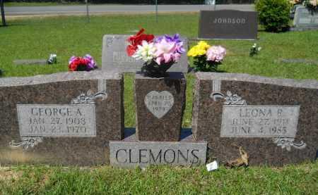 CLEMONS, GEORGE A - Calhoun County, Arkansas | GEORGE A CLEMONS - Arkansas Gravestone Photos