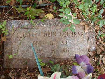 TOBIN COCHRAN, LUCILLE - Calhoun County, Arkansas | LUCILLE TOBIN COCHRAN - Arkansas Gravestone Photos