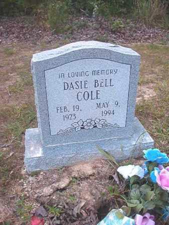 COLE, DASIE BELL - Calhoun County, Arkansas   DASIE BELL COLE - Arkansas Gravestone Photos