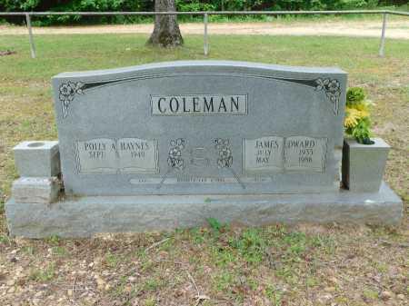 COLEMAN, JAMES EDWARD - Calhoun County, Arkansas   JAMES EDWARD COLEMAN - Arkansas Gravestone Photos