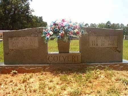 COLVERT, ZOLLIE L - Calhoun County, Arkansas   ZOLLIE L COLVERT - Arkansas Gravestone Photos