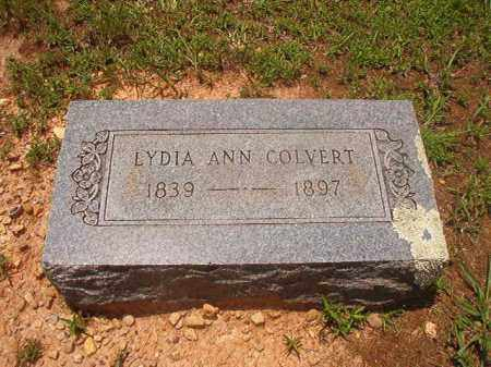 COLVERT, LYDIA ANN - Calhoun County, Arkansas | LYDIA ANN COLVERT - Arkansas Gravestone Photos