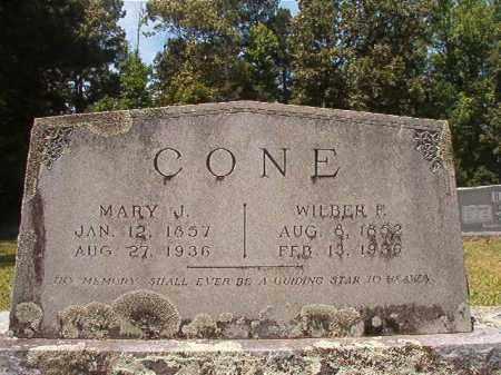 CONE, MARY JANE - Calhoun County, Arkansas | MARY JANE CONE - Arkansas Gravestone Photos