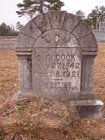 COOK, C C - Calhoun County, Arkansas   C C COOK - Arkansas Gravestone Photos