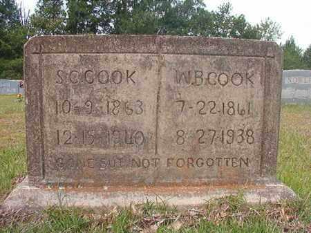 COOK, SUSAN - Calhoun County, Arkansas | SUSAN COOK - Arkansas Gravestone Photos