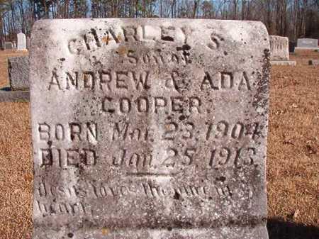 COOPER, CHARLEY S - Calhoun County, Arkansas   CHARLEY S COOPER - Arkansas Gravestone Photos