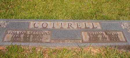 SESSIONS COTTRELL, LENA MAE - Calhoun County, Arkansas | LENA MAE SESSIONS COTTRELL - Arkansas Gravestone Photos
