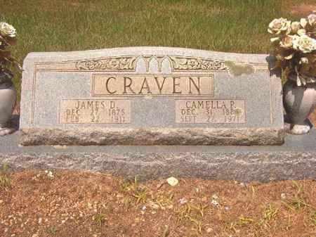 CRAVEN, CAMELLA P - Calhoun County, Arkansas   CAMELLA P CRAVEN - Arkansas Gravestone Photos