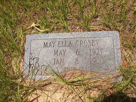 CROSBY, MAY ELLA - Calhoun County, Arkansas | MAY ELLA CROSBY - Arkansas Gravestone Photos