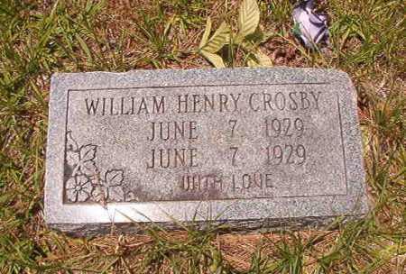 CROSBY, WILLIAM HENRY - Calhoun County, Arkansas | WILLIAM HENRY CROSBY - Arkansas Gravestone Photos