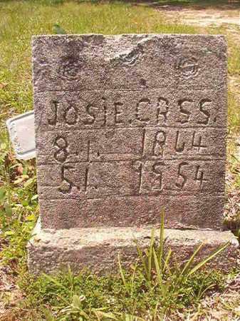 CROSS, JOSIE - Calhoun County, Arkansas | JOSIE CROSS - Arkansas Gravestone Photos