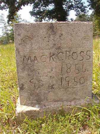 CROSS, MACK - Calhoun County, Arkansas   MACK CROSS - Arkansas Gravestone Photos